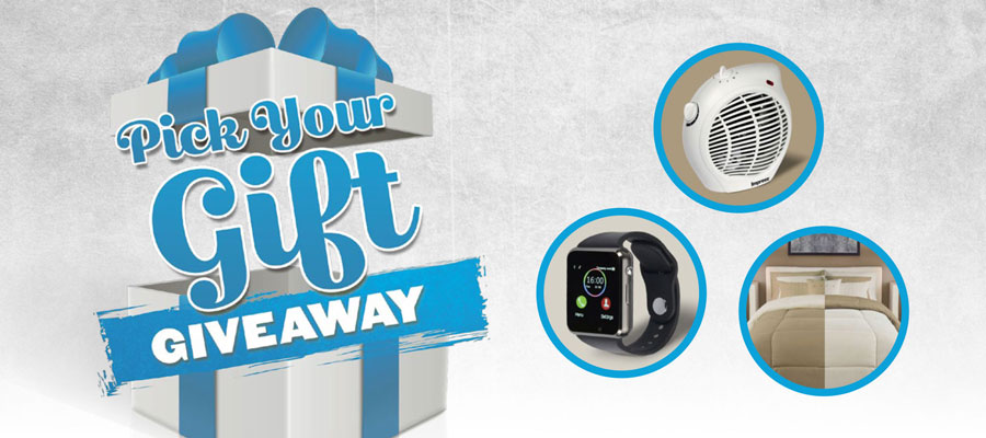 Pick Your Gift Giveaway