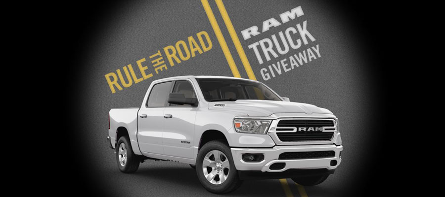 Rule the Road RAM Truck Giveaway