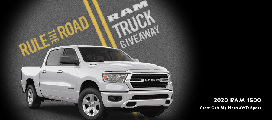 Rule the Road - RAM Truck Giveaway