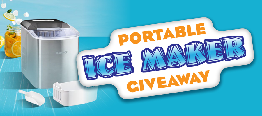 Portable Ice Maker Giveaway