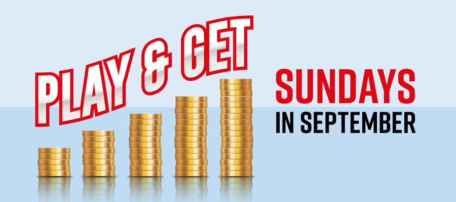 Play & Get Sunday in September